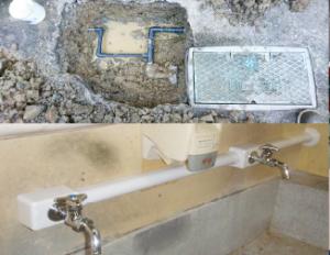 漏水修繕・配管更新工事